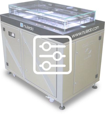 Nuledo Custom Cloud Chamber is a world-class quality, custom-made and fully personalised product meeting all customer's specific wishes and needs.